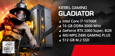 Gamer-PC Gladiator 10.0