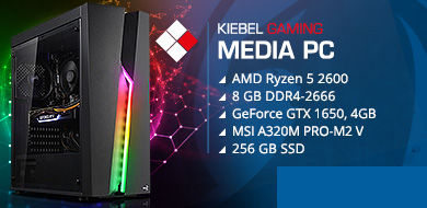 Media-PC premium ryzen pro