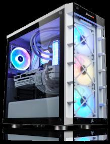 Gamer-PC Corsair iCUE White Edition